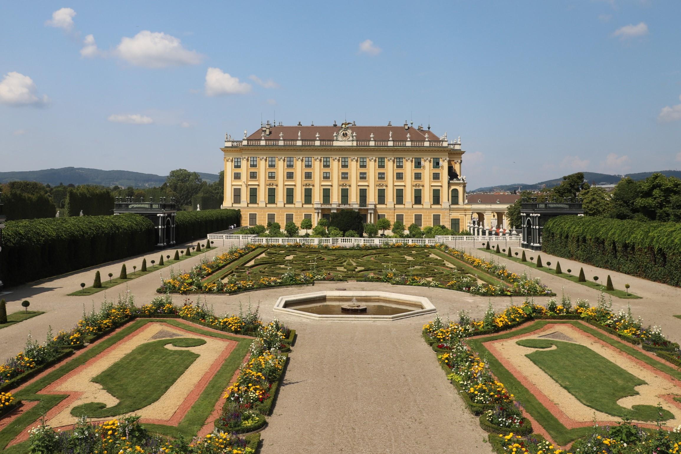 Schönbrunn Castel and Leopold Museum   travel diary